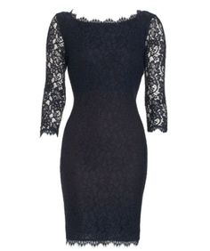 From 90210 Ivy's black lace funeral dress is by DVF. It was worn with an ivory shawl with embellished edges.