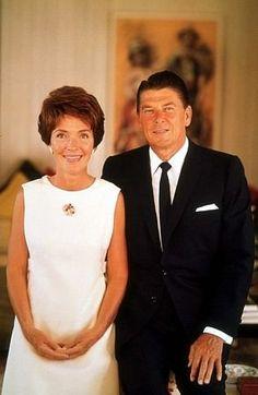 Nancy and Ronald Reagan, 1968