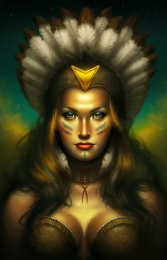 Hot Native American Women   Sin City - Promotional Illustrations