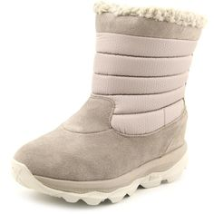 Skechers Ultra Bounce Women Round Toe Suede Winter Boot -- Awesome boots. Click the image : Women's snow boots