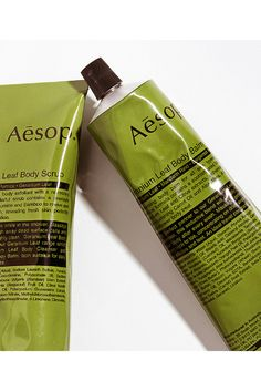 Aesop Geranium Leaf Body Scrub and Balm