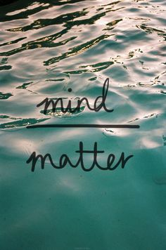 mind | matter-- love this for a tattoo..