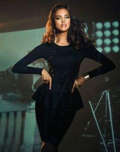 Love peplum dresses- Irina Shayk