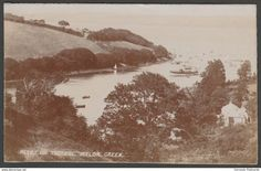 Peeps on the Fal - Mylor Creek, Cornwall, 1914 - Bragg RP Postcard
