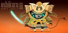 Oshikuru Demon Samurai, by Christian Ayuni- Who's the guy that had to die?
