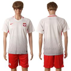 http://www.yjersey.com/201617-poland-home-jersey.html Only$30.00 #2016-17 POLAND HOME JERSEY Free Shipping!