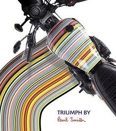 _Triumph Bonneville by Paul Smith Tank Design, Bike Design, Triumph Speedmaster, Triumph Bonneville T100, Triumph Motorcycles, British Motorcycles, Motorcycle Tank, Vintage Bikes, Cool Posters