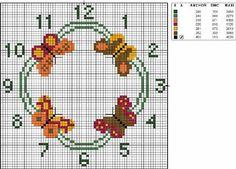 Butterfly Cross Stitch, Just Cross Stitch, Stitch 2, Brick Stitch, Learn Embroidery, Cross Stitch Embroidery, Cross Stitch Designs, Cross Stitch Patterns, Christmas Journal