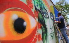 Con murales engalanan el festival del Sol en San Pedro Sula | HONDURAS POSITIVA | Lo mejor de mi país