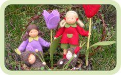 Blumenkinder und Deko