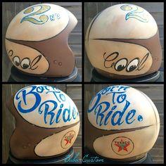 Helmet Born to ride
