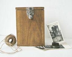 Hand Made Wood Box - Vintage Box - Storage