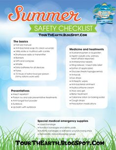 Summer Travel Safety Tips And Tricks – TourThEarth