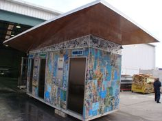 Groovy! Helensville Public Toilets by Jeff Thomson