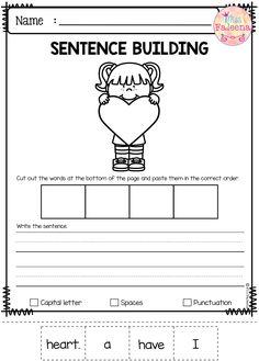 free sentence building pin teresting reading k 2 sentence building teaching first grade. Black Bedroom Furniture Sets. Home Design Ideas