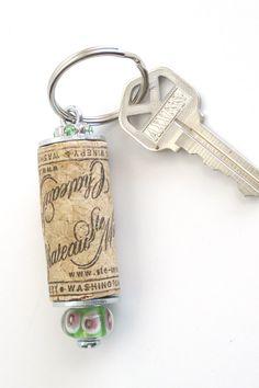 porte clé liège