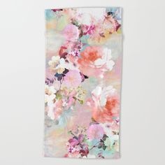 Love of a Flower Beach Towel