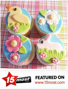 Collection of Most Beautiful Easter Cupcake Ideas