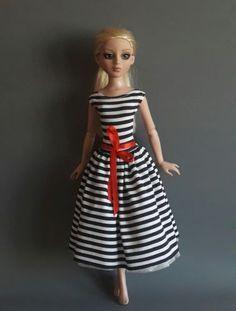 ilovethatdoll dress for Tonner Antoinette Tulabelle FR16 Ellowyne Sybarite MNF