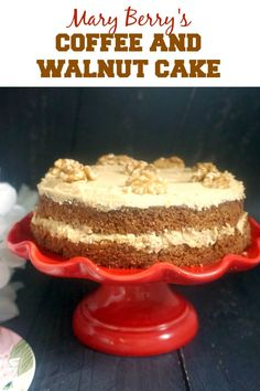 """In this recipe, normal sponge cake batter is poured into the rice cooker inner pot and """"cook"""" using the rice cooking function. This Rice Cooker Version Sponge Cake is as soft and fluffy… Easy Bake Cake, No Bake Cake, Coffee And Walnut Cake, Mary Berry Coffee Cake, Baking Recipes, Dessert Recipes, Breakfast Recipes, Dinner Recipes, Coffee Icing"""