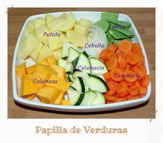 Papilla de Verduras (Potito Bebe) | Recetas de una Gatita Enamorada