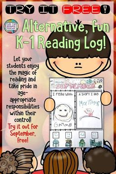 Looking for an alternative Reading Log for your Kindergarten, first grade students? Try September free on this Reading Log Rejigged, with the focus on sharing magic of reading, taking pride in age-appropriate responsibilities! - Education and lifestyle Kindergarten First Day, Kindergarten Lessons, Kindergarten Reading, Kindergarten Classroom, Reading Logs, Reading Fluency, Guided Reading, Feliz Hanukkah, H Design