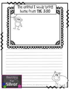 Back to School Journal Prompts Kindergarten Writing, Kids Writing, Teaching Writing, Writing Prompts, Teaching Kids, Writing Ideas, Literacy, Writing Classes, Writing Worksheets