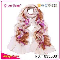 Fashion Butterfly Scarf, Personalized Chiffon Fashion Butterfly Scarf