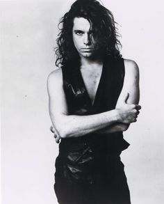 Michael Hutchence ~ If anyone wonders what the Fox really looks like, Michael Hutchence is a close match, except for eyes and nose; the rest of Michael is almost a dead-ringer. I love this guy! Why do these people always die?