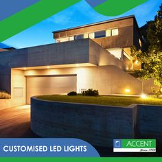 Protect Your Home With Exterior Lighting Outdoor lighting, known well as an aesthetic enhancement for your home, also has great benefits for security. This article discusses ways to keep your home … Stair Lighting, Exterior Lighting, Outdoor Lighting, Lighting Ideas, Outdoor Decor, Architecture Details, Modern Architecture, Recessed Wall Lights, Solar Licht