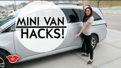 Minivan & Car Hacks! Great life hacks for busy moms on the go! | Michelle from Millennial Moms