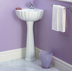 Five Bathroom Sinks for the Corner