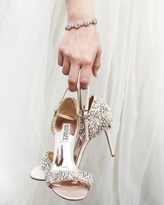 extra sparkle | Dalle Heels from BHLDN