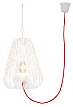 Applique Petit Nuage L 24 cm fixation au plafond Tissu blanc uni