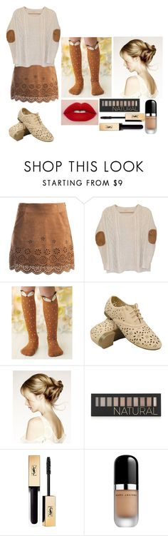 """""""@ryegames gender-bend"""" by chibiblue ❤ liked on Polyvore featuring Sans Souci, Urban Outfitters, Forever 21, Yves Saint Laurent and Marc Jacobs"""