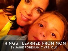 Things I Learned From Mom - A Mother's Day Haiku Deck by 7 year old Janie Foreman
