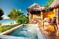 Likuliku Lagoon Resort Deluxe Beachfront Bure Plunge Pool Likuliku Resort Fiji
