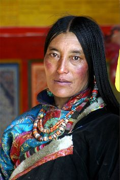 Beautiful Tibetan woman Nomad