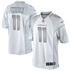 NFL Men's Arizona Cardinals Larry Fitzgerald Black Team Color ...