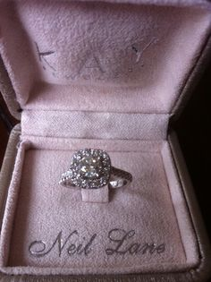 Thats what he bought -- engagement ring - Neil Lane Bridal, Kay Jewelers Kay Jewelers Engagement Rings, Buying An Engagement Ring, Dream Engagement Rings, Engagement Pictures, Engagement Ideas, Dream Wedding, Wedding Day, Wedding Rings, Wedding Bells