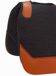 Saddles Tack Horse Supplies - ChickSaddlery.com Contoured Shock Felt Saddle Pad With Waffle Bottom <>