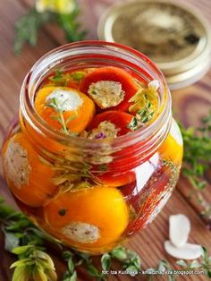 Canning Recipes, Snack Recipes, Diabetic Recipes, Christmas Food Gifts, Polish Recipes, Party Snacks, Superfood, Feta, Kitchens