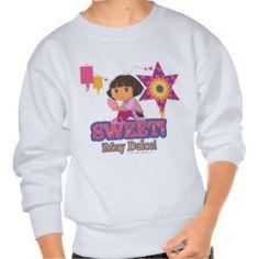 Dora The Explorer - Sweet! Pull Over Sweatshirt