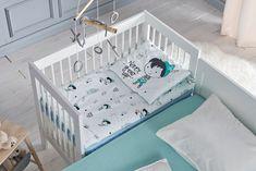Pán Péteres ágynemű a praktikus baba-mama ágyban.  ninu  peterpan  ágynemű 50f4cd2313