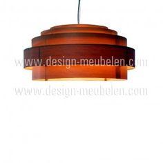 Ay illuminate Thin Wood Shade handmade hanglamp bruin incl. ophangsysteem | design-meubelen