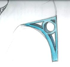 Heel Jewel Shoe drawing by Alessia Semeraro / London Architecture inspiration _ Marylebone station //