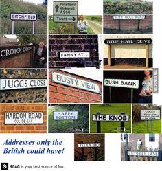 Ahhh the British