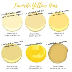 Color Crush: Decorating With Yellow - Gelb