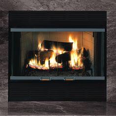 Majestic BC42 Royalton 42 Inch Heat Circulating Wood Burning ...