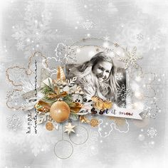 ~~ White Cold Day ~~ NEW by ET Designs http://shop.scrapbookgraphics.com/White-Cold-Day-Collection.html